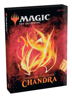 MTG Signature Spellbook – Chandra en Chile